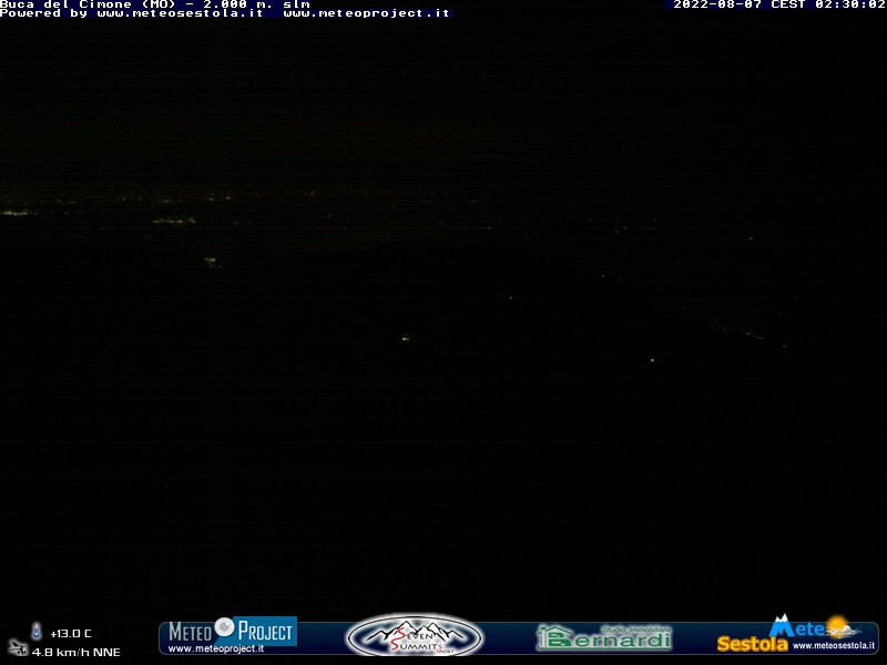 Webcam buca del Cimone