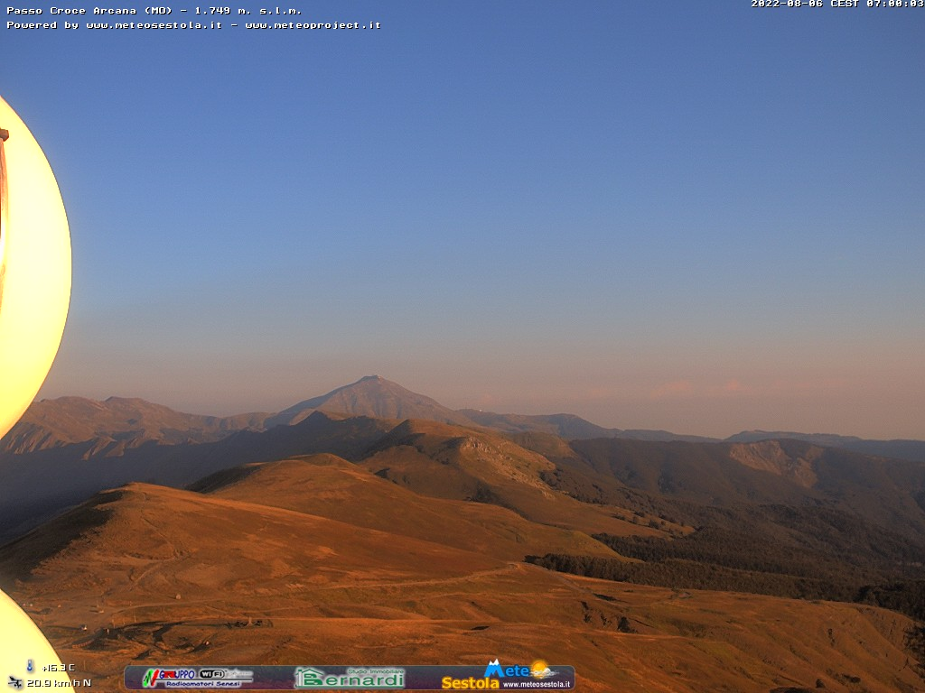 webcam meteo Sestola