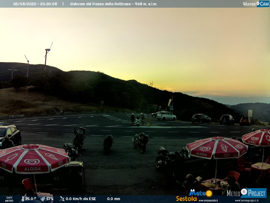 webcam passo raticosa