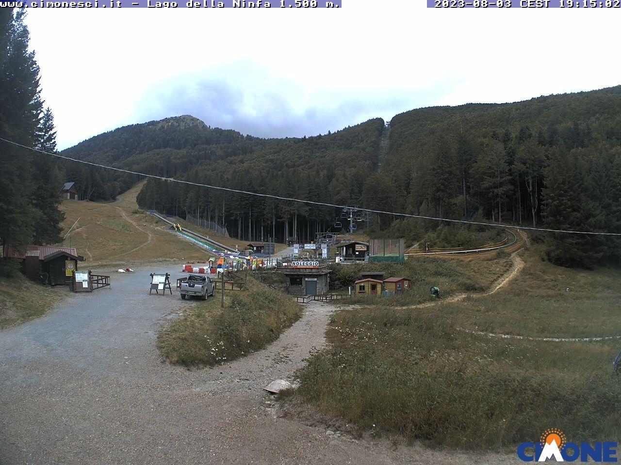 webcam lago della ninfa