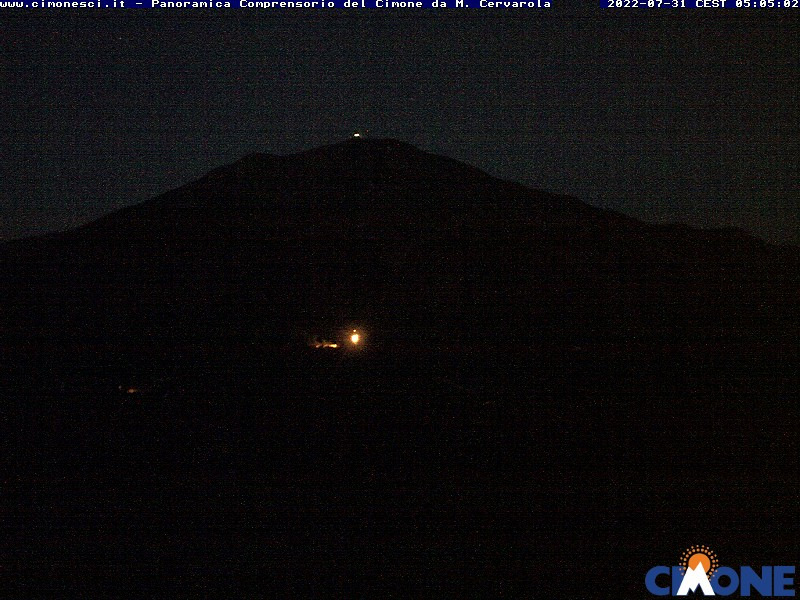 Comprensorio del cimone webcam
