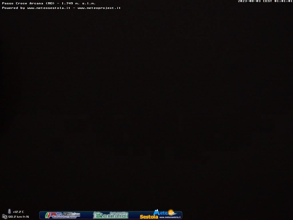 webcam croce arcana