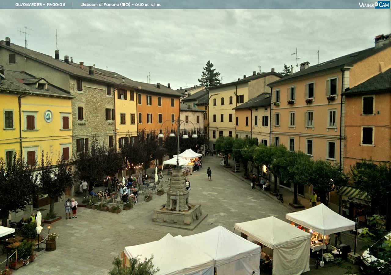 webcam fanano