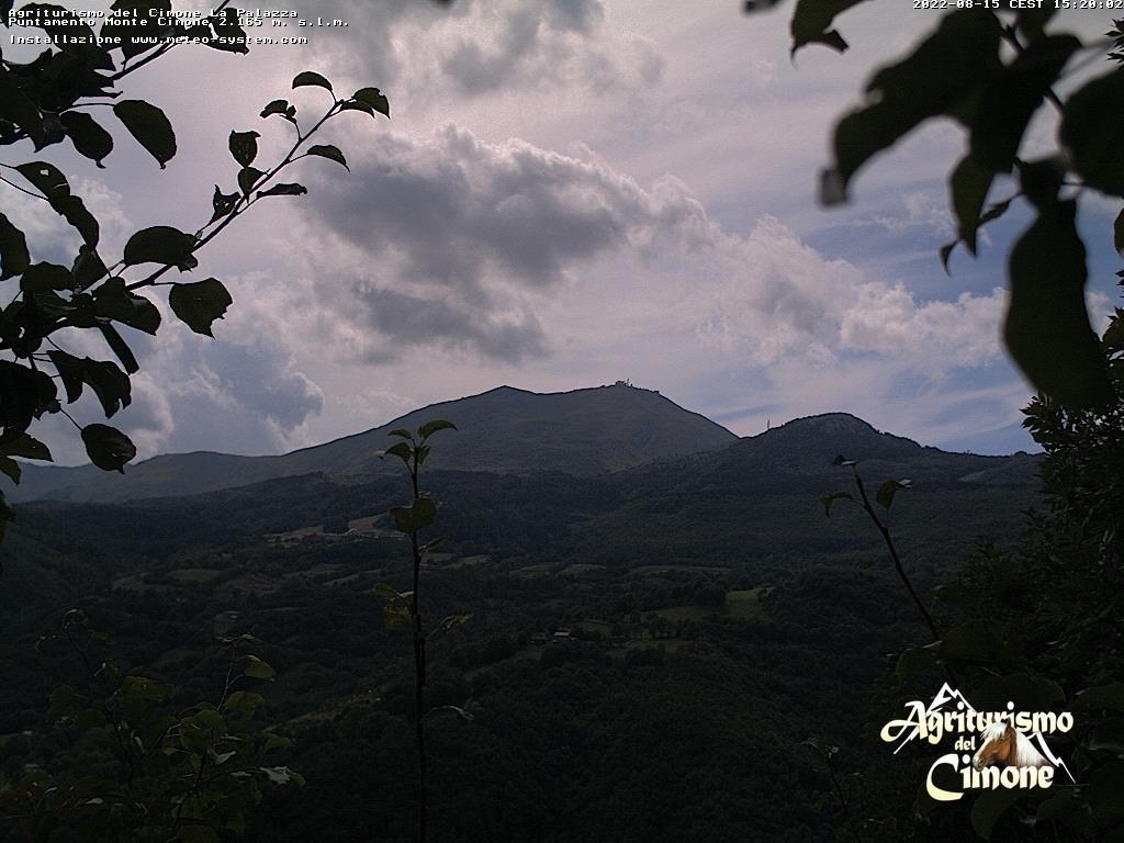 webcam cimone da canevare